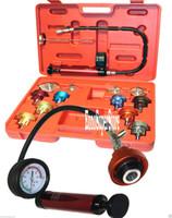 audi hoses - BMW AUDI BENZ GM PC WATER TANK LEAK DETECTOR RADIATOR PRESSURE COOLING GASKET with gauge and hose