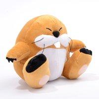 animal groundhog - 6in Super Mario Bros Marmot Plush Toy Monty Mole Groundhog Stuffed Animal