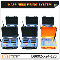 Wholesale CE passed DHL FedEx cues Rechargeable M Remote wire control Fireworks Firing System DBR02 X24