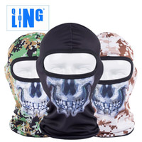 Wholesale New Popular Lin riding motorcycle CS equipment soft skull mask jungle Python Flying Tiger cap dust proof caps