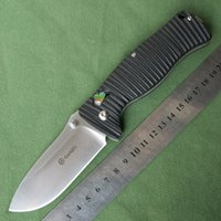 big broken - Ganzo Big G720 G720 B EDC Camping Survival Hunting Tactical Folding Knife C Blade Black G10 Handle Utility Broken Glass Tool Knives