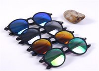 Wholesale 2016 new sunglasses Fashion coated color round box driving glasses sunglasses UV400