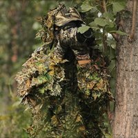Wholesale NEW ARRIVAL CS D Tactical Yowie sniper Camouflage Clothing Bionic ghillie suit Camouflage Hunting clothes