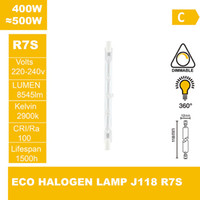 Wholesale ECO halogen lamp J118 V W R7S Halogen light halogen bulb