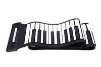 Wholesale MD88S Flexible Keys Professional MIDI Keyboard Electronic Roll Up Piano for Children