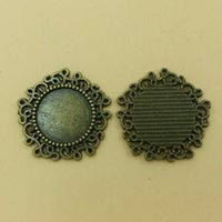 bags trays - Cabochon Fits mm Dia Setting Base Blank Pendant Trays Charm Zinc Alloy Diy bag T158 New