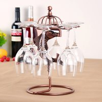 wine glass rack - quot quot WROUGHT IRON Wine Rack European Originality Red Wine Exhibition The Shelf Red Wine Glass Frame