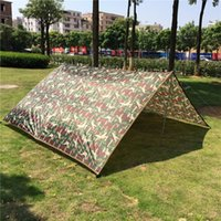 Wholesale 3 m Ultralight Outdoor Caming Tarp Tent Sun Shelter Large Rian Car Tarpaulin Waterproof Cover Sun Awning Shelter Nylon Camouflage Tarps