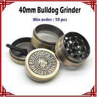 big bulldog - big sale Bulldog Grinders Herb Grinders mm Layers Metal Grinders Zinc Alloy Tabacco Grinder VS Sharpstone Lighting Grinders