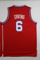 Wholesale Top Quality Cheap Julius Erving Jerseys Stitched Mesh Julius Erving Jerseys