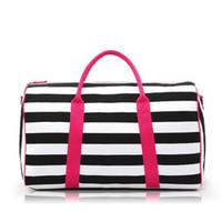 Wholesale New Travel Bag Weekend Bag Large Capacity Overnight Bags Women Waterproof Luggage Bag Women Canvas Duffel Travel Tote