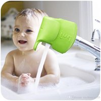 Wholesale 20pcs Super Ultra Soft Bath Spout Cover Bar Tap Elephant Collision Angle Washable Flexible Mold BLUE GREEN for choose