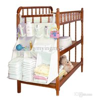 baby furniture supplies - MM016 Hanging Shelf Baby Diaper Bags Organizer Nappy Nursery Clothes Storage Closet Furniture Accessories Supplies Products