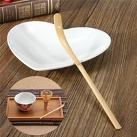 Wholesale 2015 Hot Selling pc Professional Handmade Bamboo Chashaku Matcha Tea Scoop Japanese tea ceremony Matcha tea bamboo teaspoon