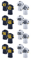 Wholesale Customized Jumpman Michigan Wolverines Jersey Gerald Ford Bennie Oosterbann Woodley Butt Men Limited College Football