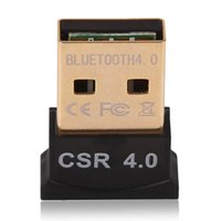 Wholesale New USB Bluetooth Adapter V4 Dual Mode Wireless Dongle Free Driver USB2 m Mbps for Windows XP Vista