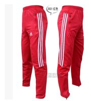 Wholesale new three color men s trousers football pants jogging pants