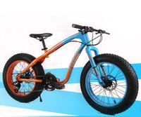 bmx bikes - 26 inch Cross country snow beach bike super wide tires Variable speed mountain bike Male and Female students cycling