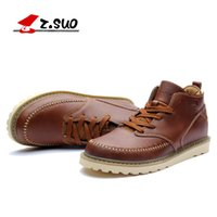 ankle boo - Ropedancing the spring and autumn period and the han edition tide shoes men s shoes leisure Martin boots leather breathable ZS058 men s boo