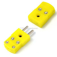 aluminum casting temperature - K Type Thermocouple Temperature Sensor Male Female plug Connector G00188 OST