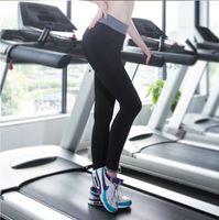 Wholesale Fashion Yoga Pants For Women Tight Sportwear Nice Leggings High Elastic Thin Sports Yoga Pants Running Long Trousers Legging
