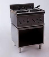Wholesale HF6035 G Multifunctional KW Double Cylinder Blast Furnace Gas Fryer Chicken Business