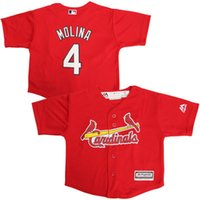 baby cardinals - Cheap youth St Louis Cardinals jerseys Baby Yadier Molina old year Cool Base toddler Jersey stitched S L