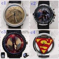 batman wrist watch - 40PCS LJJM75 Game of Thrones Watch Emboss Watch Leather Band Stainless Steel Watch Sport Quartz Batman v Superman Wrist Watch