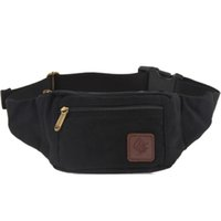Wholesale Driftwood Black Coffee Green Khaki canvas waist bags