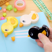 Wholesale High Quality Cute Duck Shape Correction Tape School Office Correction Supplies Papelaria