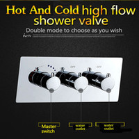 Wholesale sanitary fitting high quality hot cold mixing water valve way diverter water flow shower controller