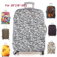 Wholesale Hot Sale Travel Luggage Suitcase Protective Cover stretch made for inch case apply to to inch Cases colors M1225
