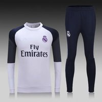 Wholesale new Real madrid home jerseys Real madrid champions league home Running Jerseys White shirt