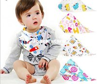 bella house - Bella tree house double double snaps children cotton bandage scarves bib baby bibs bibs