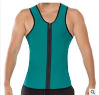 Wholesale Neoprene conjoined male money fast long sweat of model body underwear back back good sides to wear