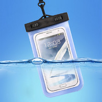 apple phone case sale - Hot sale within inch Universal Waterproof Case Bag of PVC Phone Pouch with Lanyard for iphone plus Note HTC Huawei