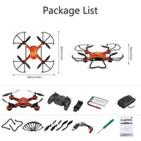 Wholesale Smart Rc Helicopter - JJRC H12WH RC Quadcopter Drones 4CH 6-axis ABS WiFi FPV RTF CF RC Helicopter with 2.0MP HD Camera Through Controler Smart Phone