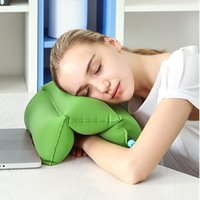 Wholesale 1 Comfortable Desk Rest Arm Glove Pillow Flight Travel Cushion Sleep Innovative Office Nap Pillow Vehicle headrest backrest