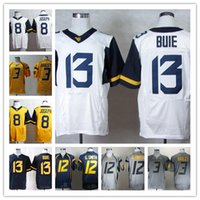 west virginia - West Virginia Mountaineers Andrew Buie College Jersey Football Tavon Austin Oliver Luck Stedman Bailey Karl Joseph Jerseys