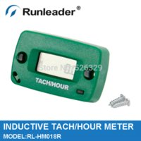 atv snowmobile parts - RL HM018R LCD Tach Hour Meter for Motorcycle ATV Snowmobile and Boat Generator JET SKI Motorcycle Accessories amp Parts