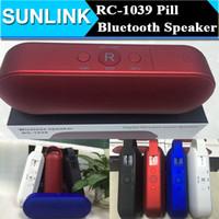 big button radio - RC Big Sound Bluetooth Speaker Pill XL Speaker Wireless Super Bass Speaker With Handle Support U Disk TF Slot VS BT808 JHW SPEAKER