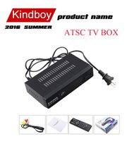 Wholesale 2016 ATSC TV BOX Mexico USA Canada Korea ATSC M3 HD TV Receiver Full HD p Digital TV Converter Box Free DHL shipping