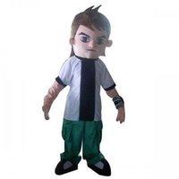 ben ten movie - Ben Ten Cartoon Character Mascot Costume Cheerleading Adult Suit Express