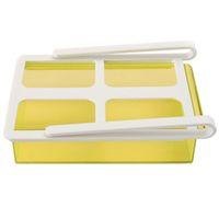 Wholesale Newest Slide Kitchen Fridge Freezer Space Saver Organization Storage Rack Shelf Holder Kitchen Tool