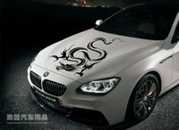 Wholesale Car sticker modified car stickers BMW hood post dragon totem F0 roof cover stick machine