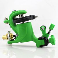 beauty motors - Lightweight light green Professional Rotary Motor Strong Tattoo Machine Gun For Liner Shader Body Beauty Tools New Arrival