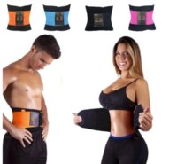 Women sports spine - Women Men Sports Xtreme Power Belt Waist Trainer Training Spine Recover Belt Shaper Adjustable Back Support Breathable