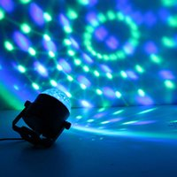 Wholesale Mini Dj Disco light RGB dmx LED Crystal Magic Ball Stage Effect Lighting moving head Party Club DJ Light Show quick shipping