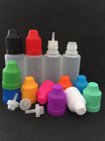 e liquid flavor - Cheap ml PE Empty E Liquid Plastic Dropper Bottles Child Proof Cap Bottles Ecig Refills Bottles Transparent flavor bottle