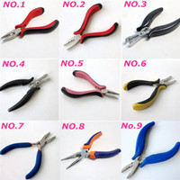 Wholesale Professiona Fusion Keratin Hair Pliers hair extensions tools Stainless Steel Multi function Accessories more styles Optional
